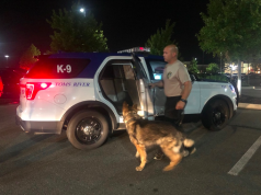 K9 units search the Toms River ShopRite store after a bomb threat, Sept. 11, 2019. (Photo: TRPD)