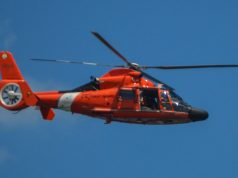 MH-65 Dolphin Helicopter from U.S. Coast Guard Air Station Atlantic City (Photo: Daniel Nee)