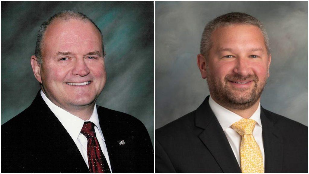 "Maurice ""Mo"" Hill and Jonathan Petro (Campaign Photos)"