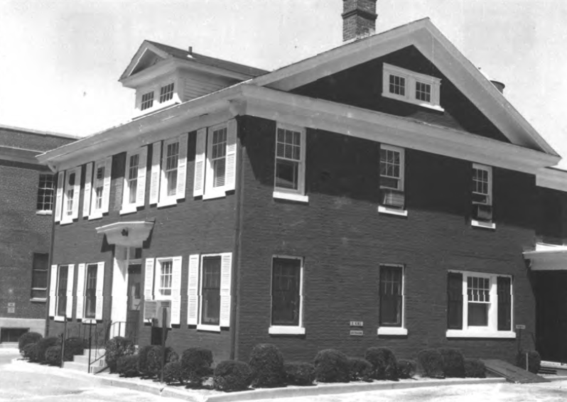The Ocean County Sheriff's residence, built in 1851, when it was in good condition. (Credit: National Parks Service)