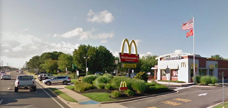 McDonald's, 843 Fischer Boulevard. (Credit: Google Maps)