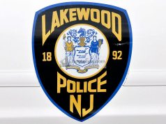The Lakewood, N.J. police shield. (Credit: LPD/Facebook)