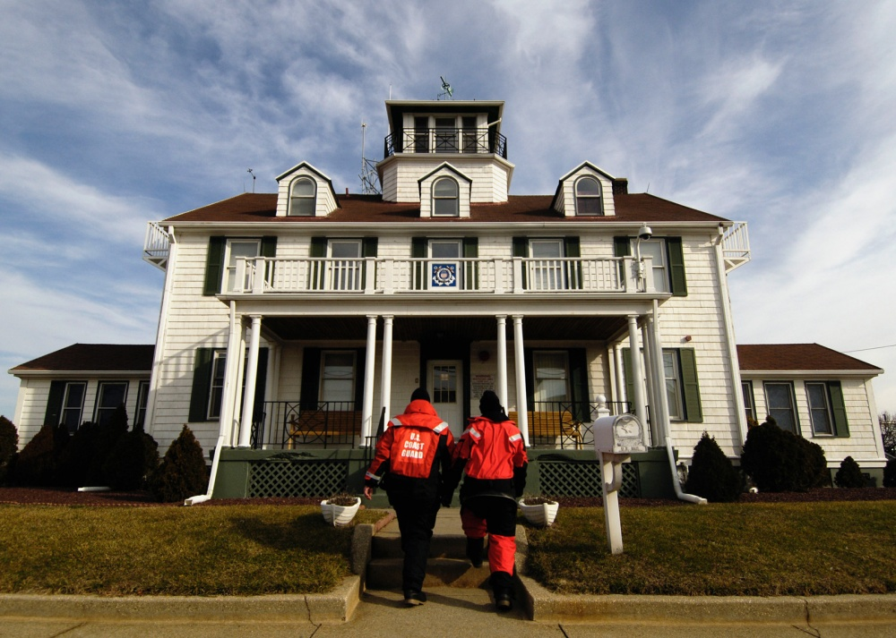 The historic Coast Guard station at Manasquan Inlet. (Photo: USCG)