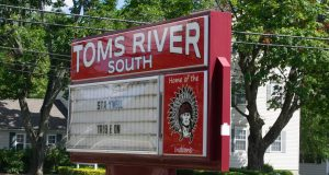 Toms River High School South Indians Sign. (Photo: Daniel Nee)