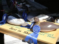 A decoy entered in Ocean County's annual baymen's show. (Photo: Ocean County)