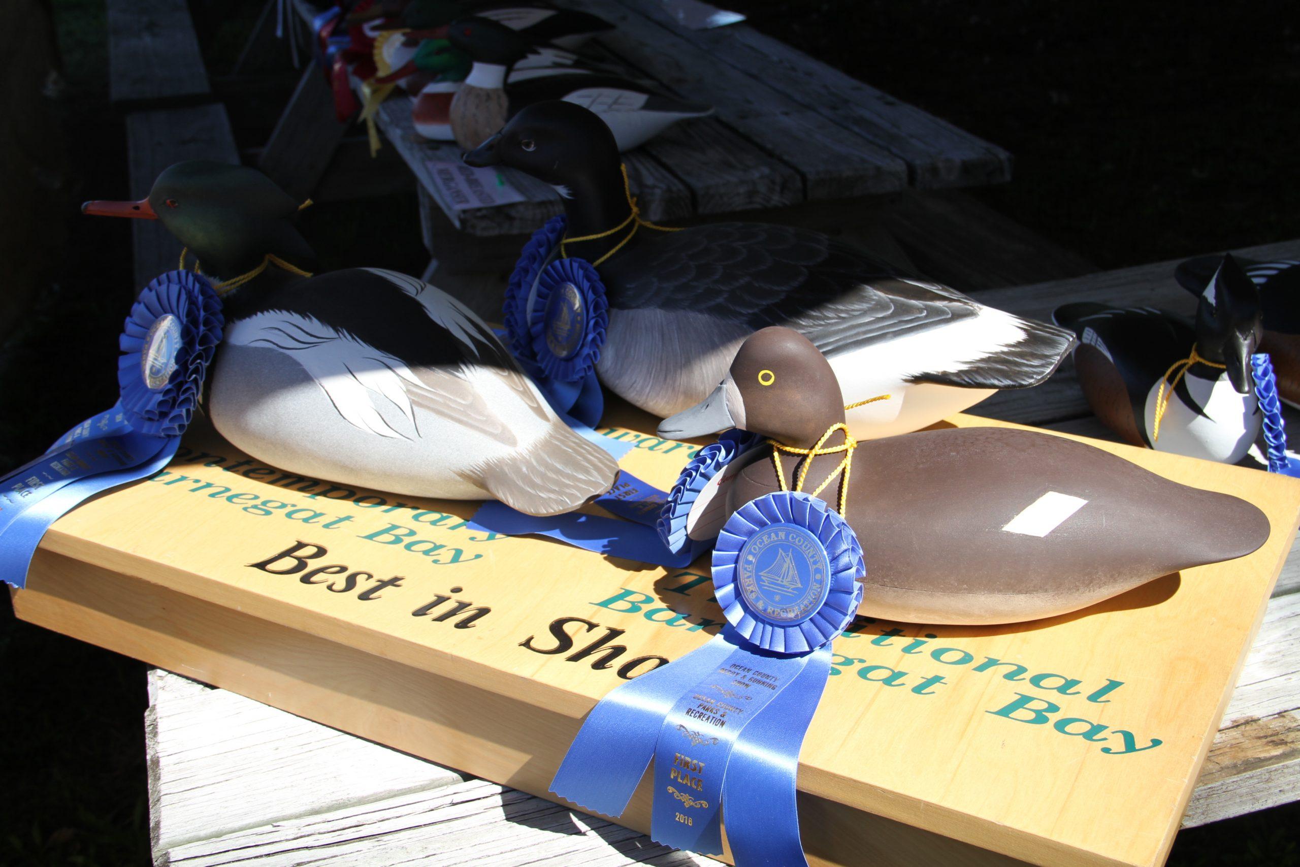 A decoy entered in Ocean County's annual baymen's show. (Photo: Ocean County)
