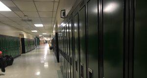 School lockers. (Photo: Daniel Nee)