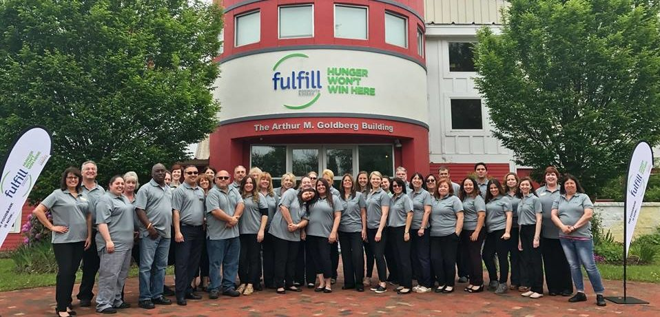Staff and volunteer at Fulfill. (Photo: Fulfill)