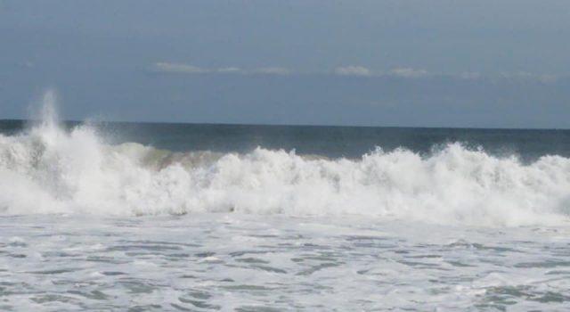 Rough surf, Sept. 14, 2020. (Photo: Patricia Nee)