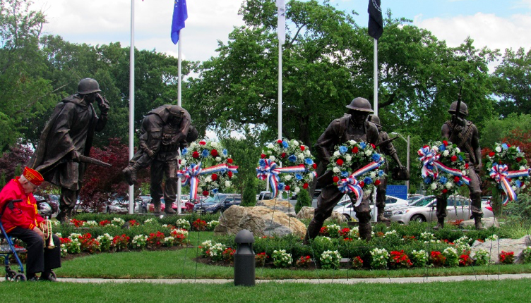 The Protectors of Freedom statue in Toms River. (Photo: Toms River Township)