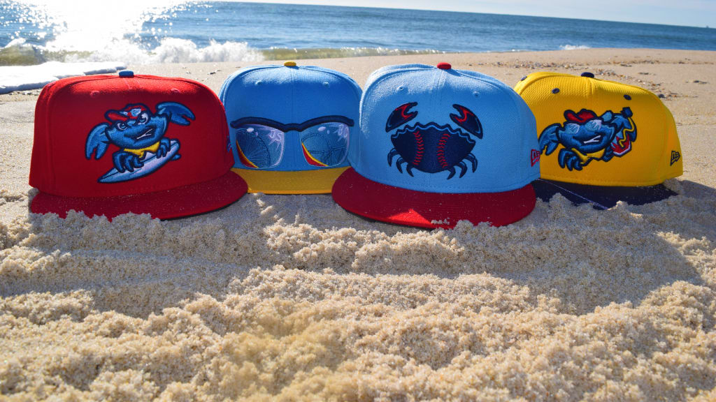 New Jersey Shore BlueClaws hats. (Photo: BlueClaws)