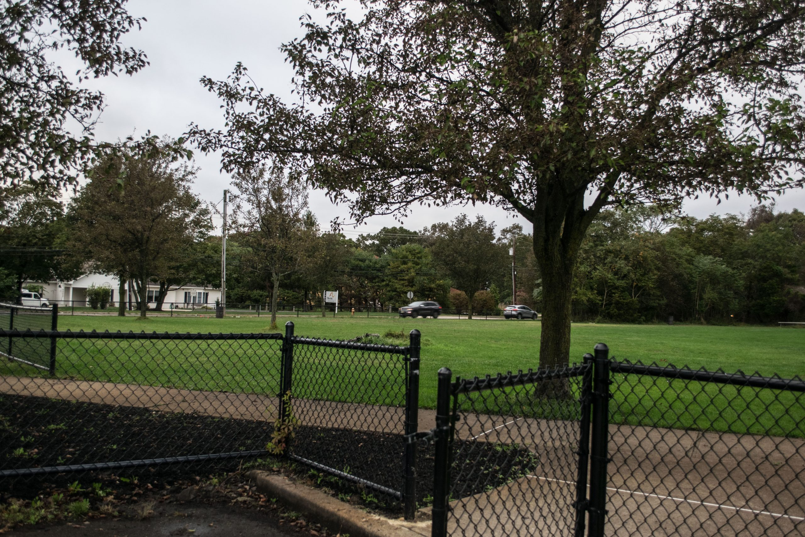 The area of Castle Park where a skate park is being planned in Toms River. (Photo: Daniel Nee)
