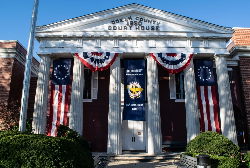 The historic Ocean County courthouse. (Photo: Daniel Nee)