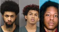Shadrach Correa, 18, Daivon Sullivan, 18, and Leyron Jones, 23, all of Toms River. (Photos: OCJ/OCPO)