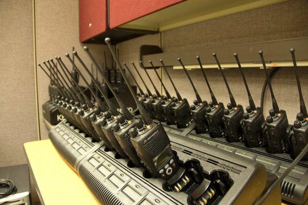 Police radio. (Credit:  Brett Neilson/Flickr)