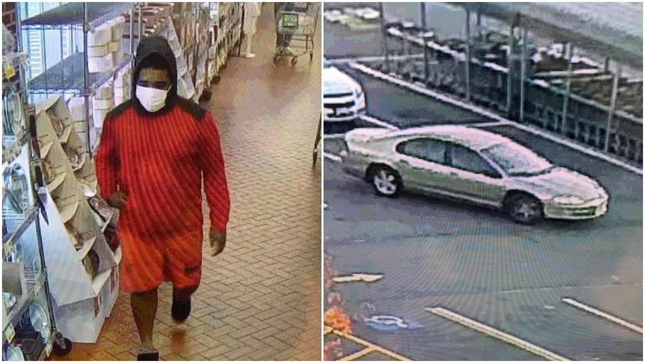 The suspect in residential burglaries in Toms River. (Photo: TRPD)