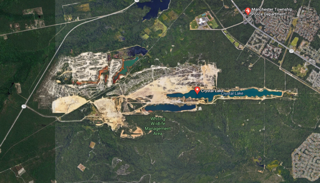 The Heritage Minerals (ASARCO) property in Manchester. (Credit: Google Maps)