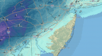 Snow totals expected by Wednesday night, Dec. 16, 2020. (Credit: NWS)