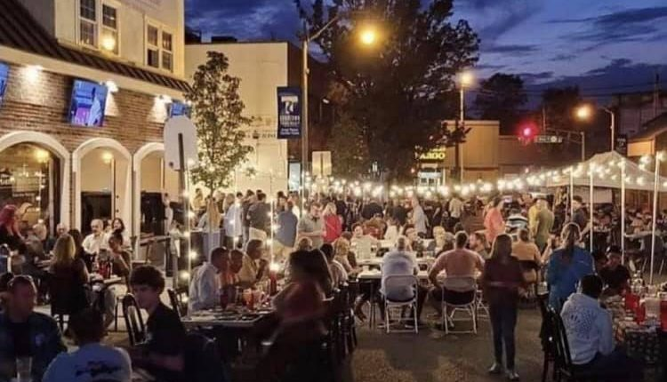 Outdoor dining in downtown Toms River. (Photo: Downtown Toms River BID)
