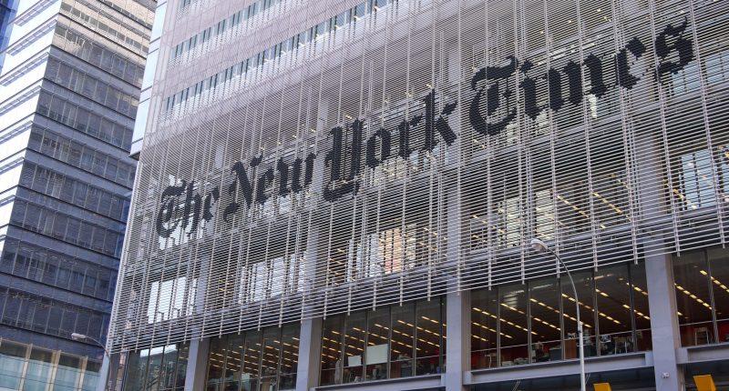 The New York Times building, New York. (Credit: samchills/ Flickr)