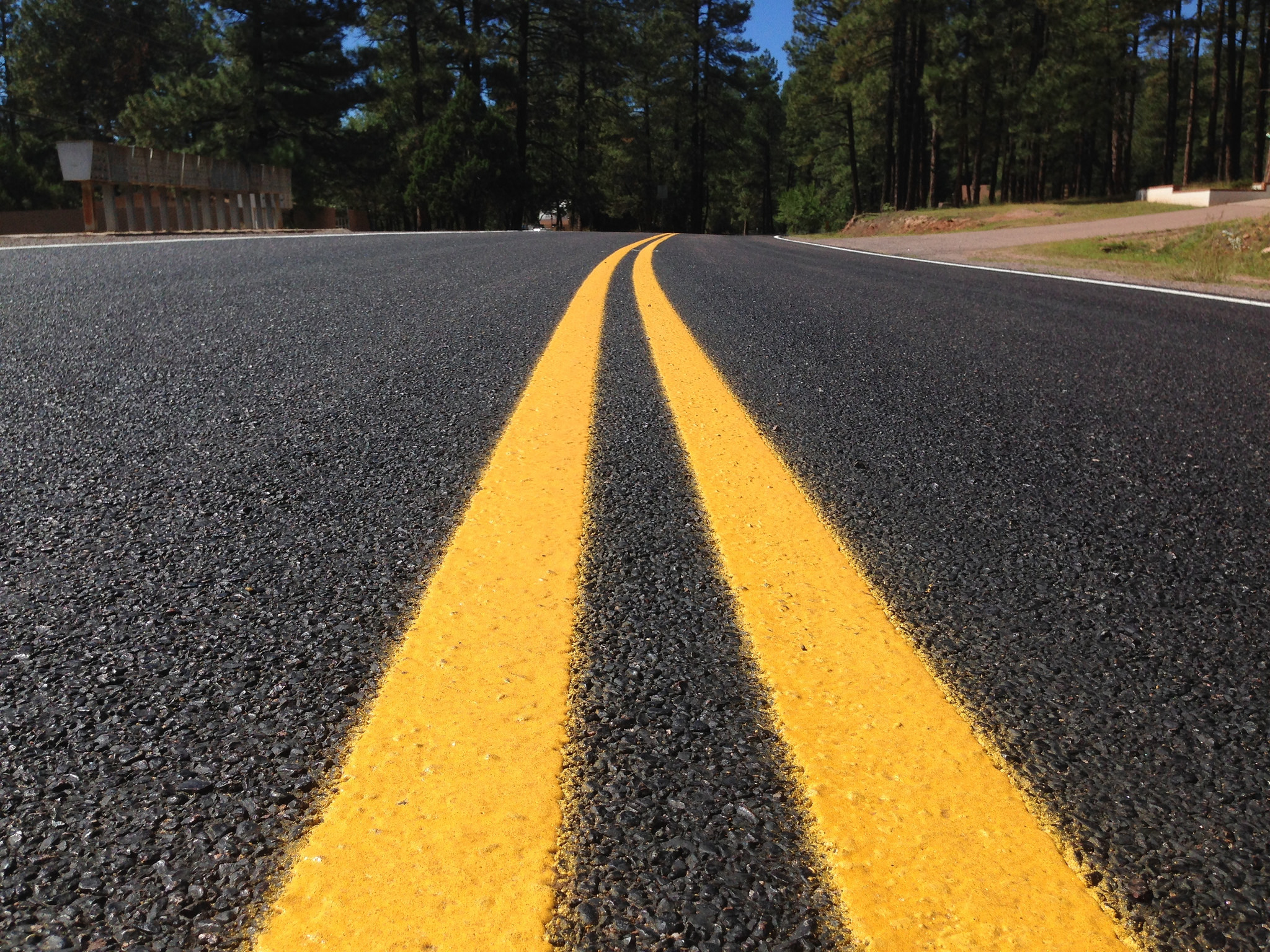 A newly-paved road. (Credit: Alan Levine/Flickr/File Photo)