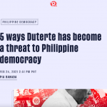 A headline on Rappler. (Screenshot)