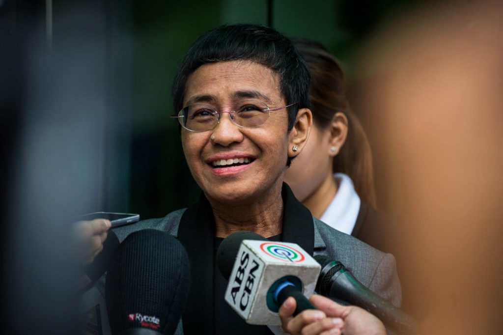Class of 1982 High School North graduate Maria Ressa has forged a journalistic career marked by bravery, integrity, and justice, and has recently been nominated for a Nobel Peace Prize. She recently spoke with HSN Principal Ed Keller. (Photo: Rappler.com and Maria Ressa)