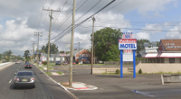 The Americana Parkway Motel, proposed to be replaced. (Credit: Google Maps)