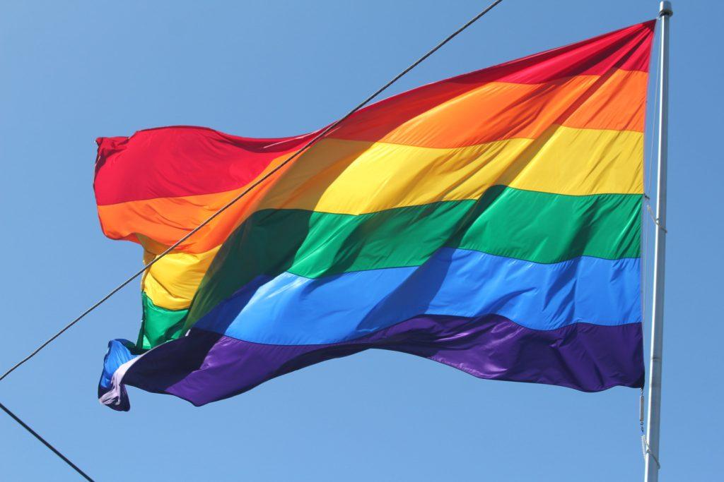 Rainbow pride flag. (Credit:  Quinn Dombrowski/ Flickr)