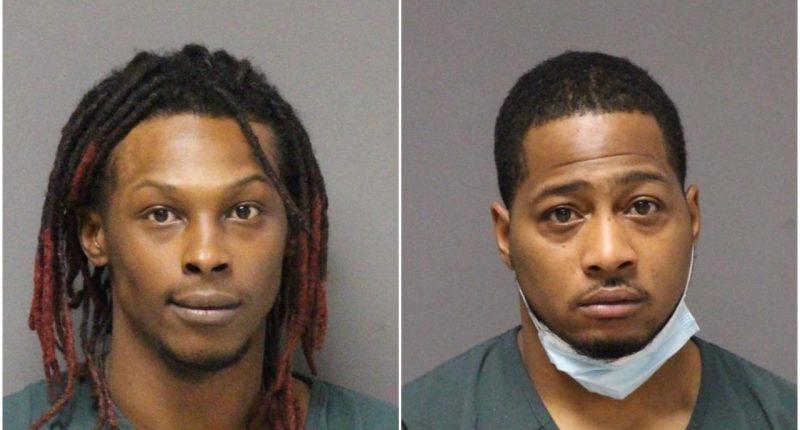 Kevin Morrison, Jr. and Rodney Morrison. (Photo: Ocean County Jail)
