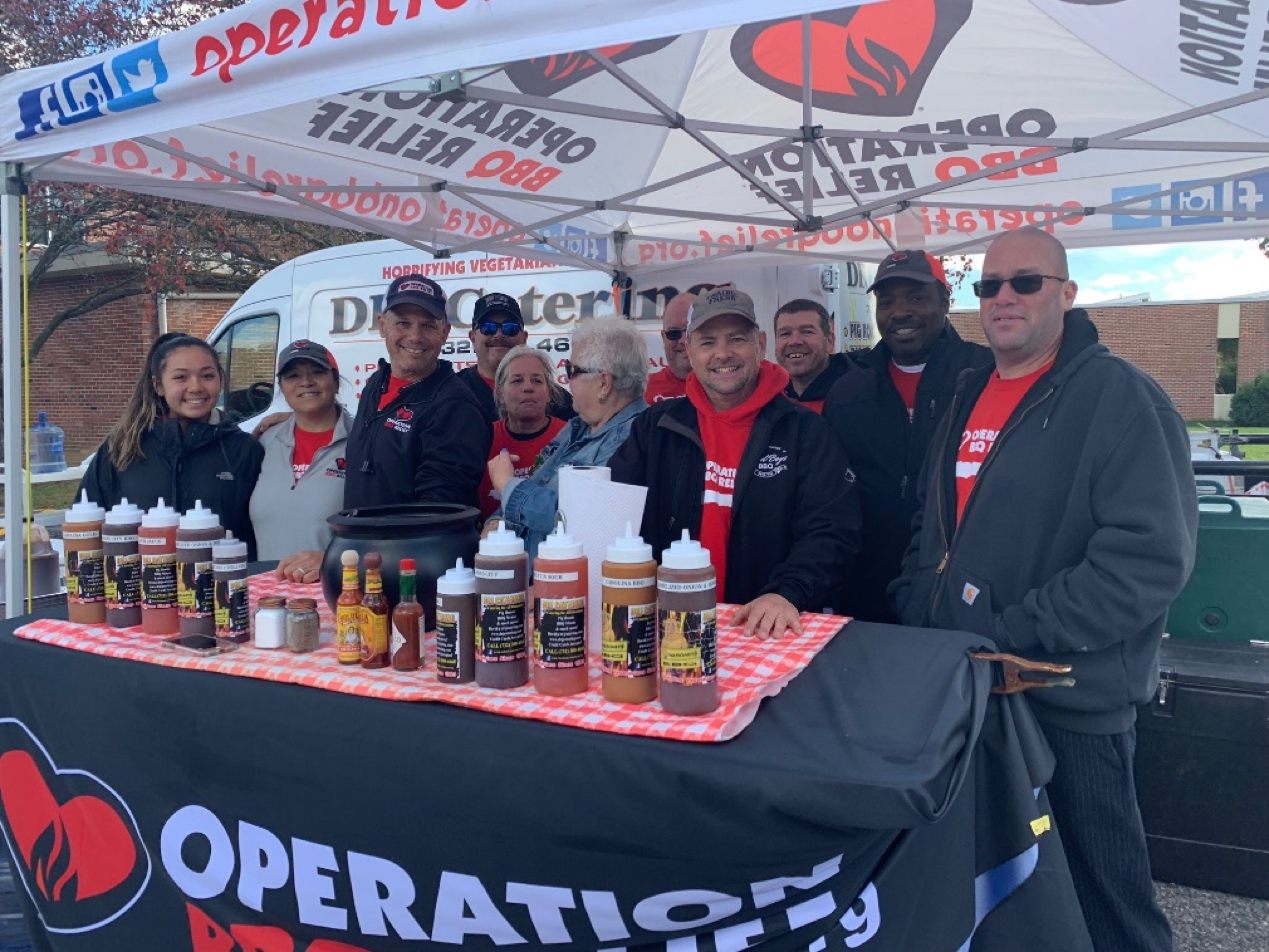 Operation BBQ Relief's visit to Toms River in Nov. 2019. (File Photo)