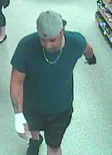 The person being sought for questioning in an incident at a Toms River Wawa, June 2021. (Photo: TRPD)