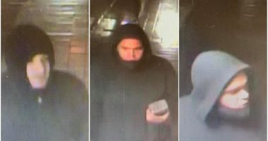 Surveillance photo(s) of the suspect(s) in a break-in at Toms River High School East. (Photo: TRPD)