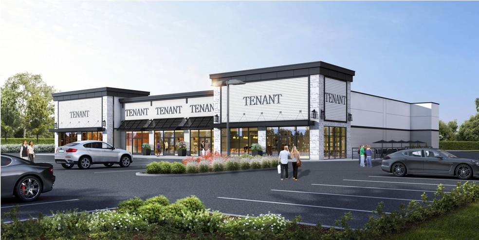 Rending by R.J. Brunelli & Co for a new strip mall at 1882 Hooper Ave in Toms River (Photo by R.J. Brunelli)