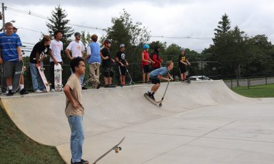 Toms River Skate Park opened to the public August 21. (Photo by Toms River Township)