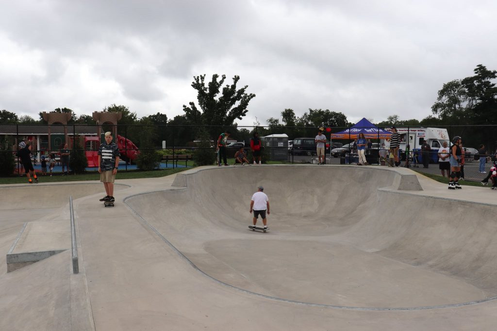 A long-awaiting skate park opened by Toms River Parks and Recreation on North Bay Ave. (Photo by Toms River Township)