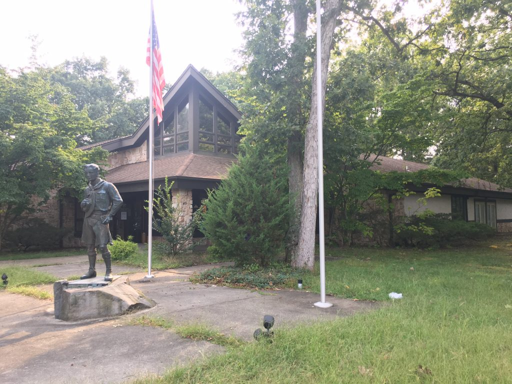 Boy Scout Council on Route 571 in Toms River. (Photo: Catherine Galioto)