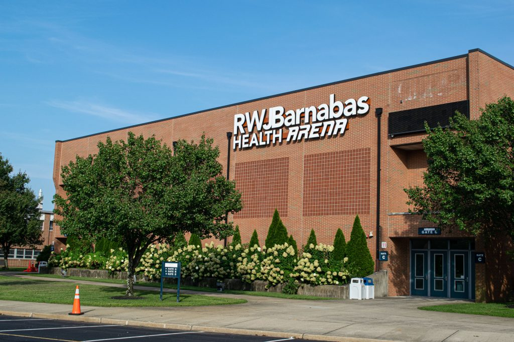The RWJ Barnabas Health Arena at Toms River High School North. (Photo: Daniel Nee)